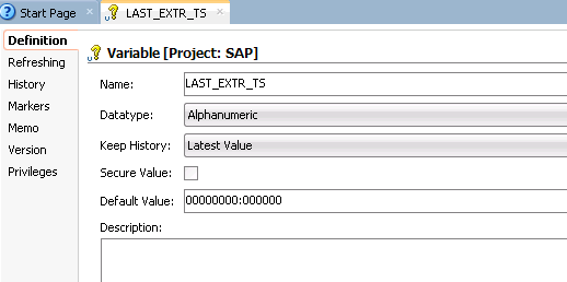 Using Advanced Join Handling for Change Detection with SAP