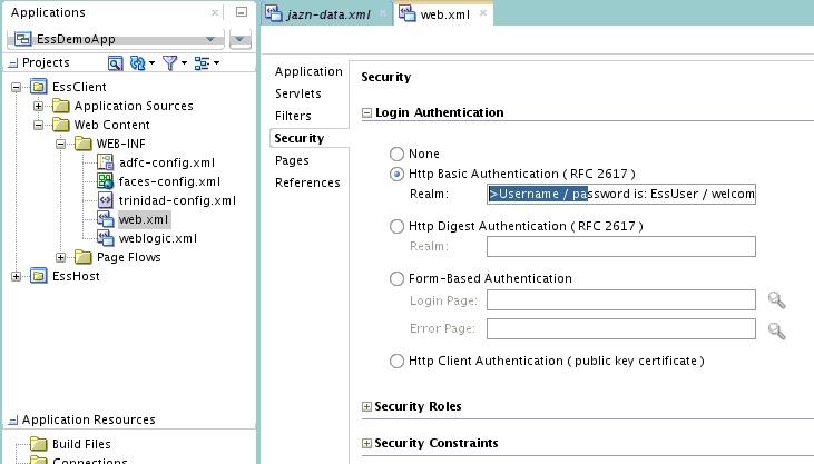 Using Oracle JDeveloper to Generate an Oracle Enterprise Scheduler