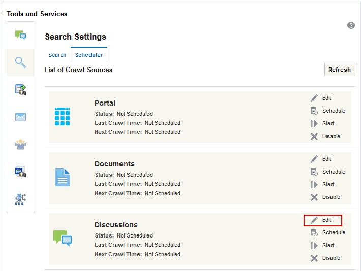 Configuring Elasticsearch in WebCenter Portal