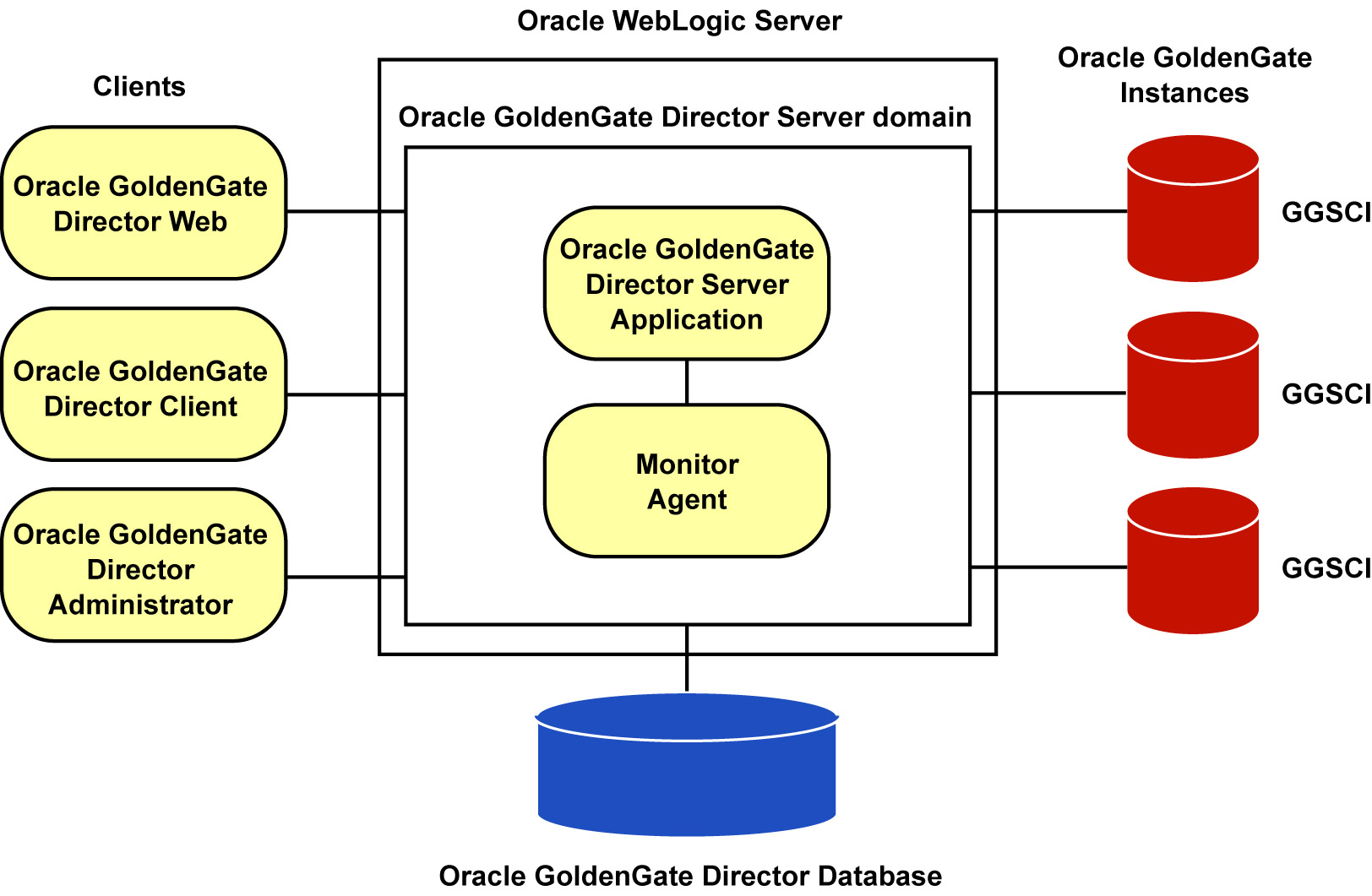 1 overview of oracle goldengate director oracle goldengate instances pooptronica