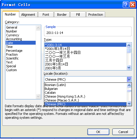 working with localization formatting
