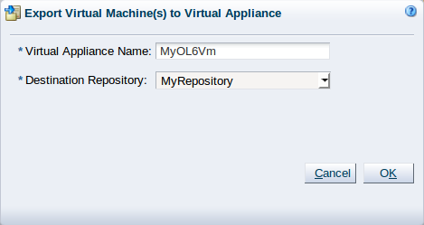 3 4 3 13 Export to Virtual Appliance
