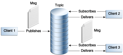 Figure 45-4 Publish/Subscribe Messaging