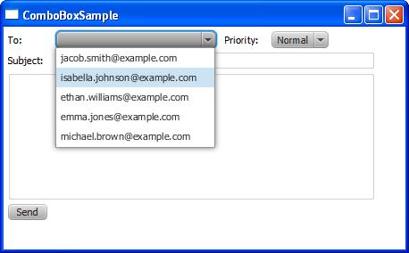Using JavaFX UI Controls: Combo Box | JavaFX 2 Tutorials and