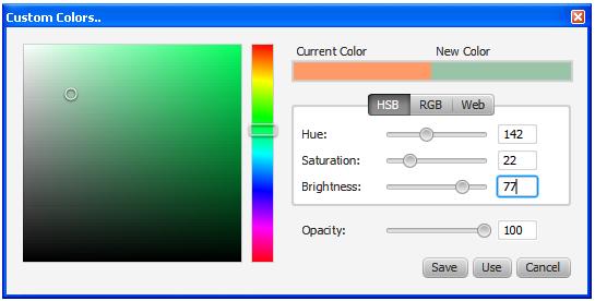 Using JavaFX UI Controls: Color Picker | JavaFX 2 Tutorials and