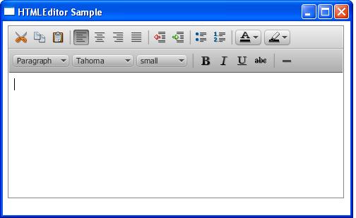 Using JavaFX UI Controls: HTML Editor | JavaFX 2 Tutorials and