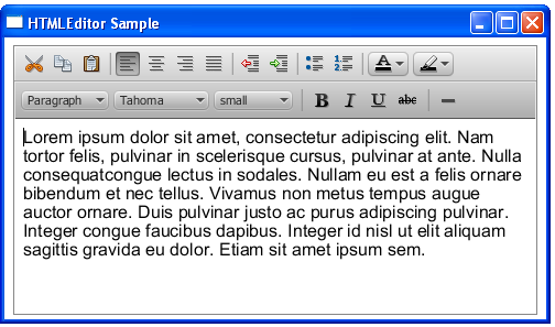 how to write html rich text editor