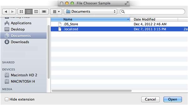 Using JavaFX UI Controls: File Chooser   JavaFX 2 Tutorials and