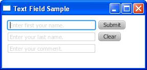 Using JavaFX UI Controls: Text Field | JavaFX 2 Tutorials