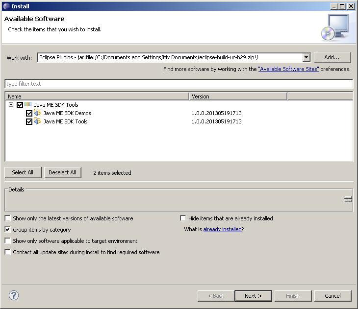 java me sdk 3.0 for windows 7