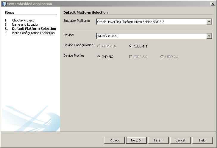 Using the Oracle Java ME SDK Software with NetBeans