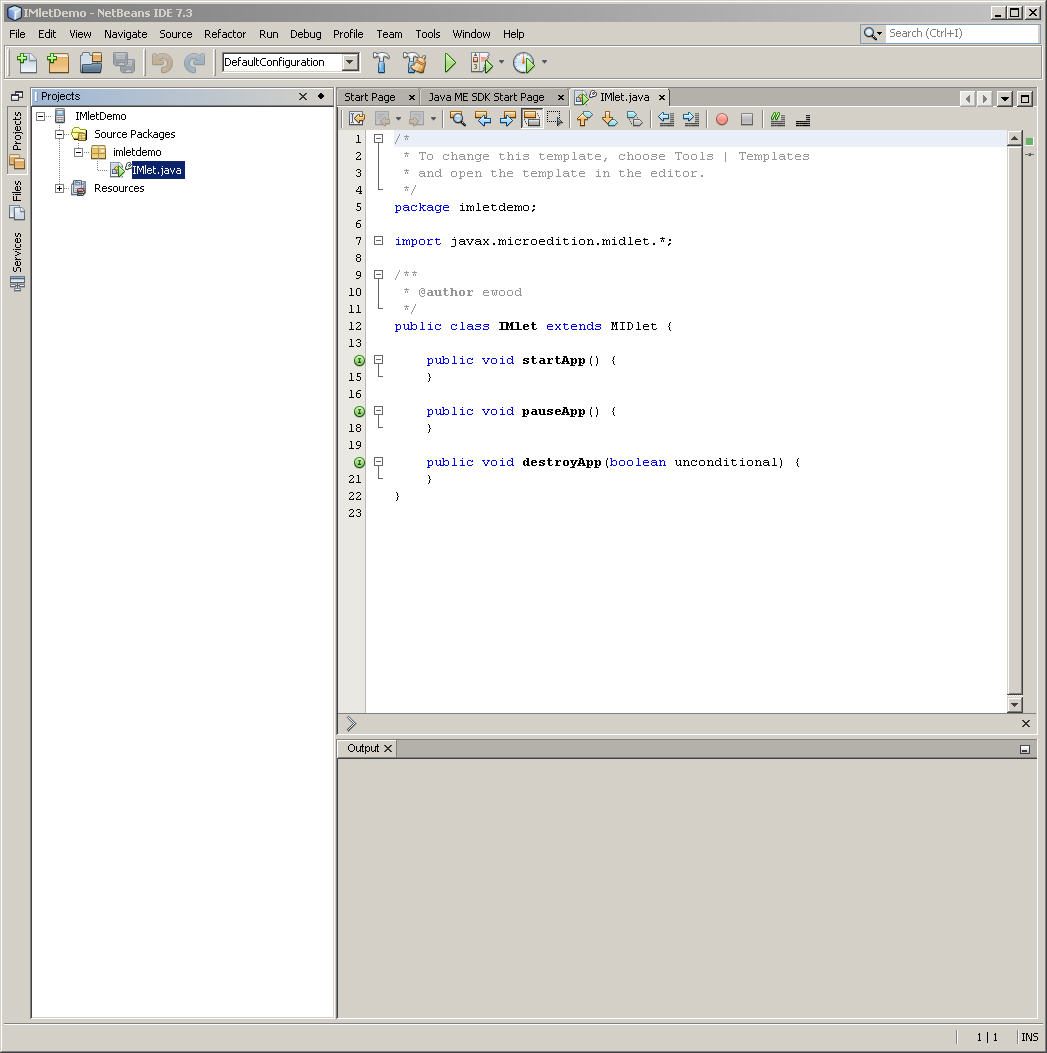 Using the oracle java me sdk software with netbeans description of figure 2 17 follows baditri Gallery