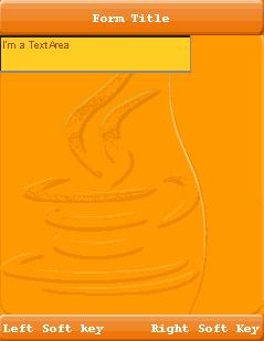 تعلم كيفية التعامل مع المكتبة Lightweight لانشاء تطبيقات ذات واجهة مستخدم رسومية جذابة للجوالات Textarea