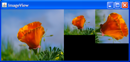 A visual rendering of the ImageView example