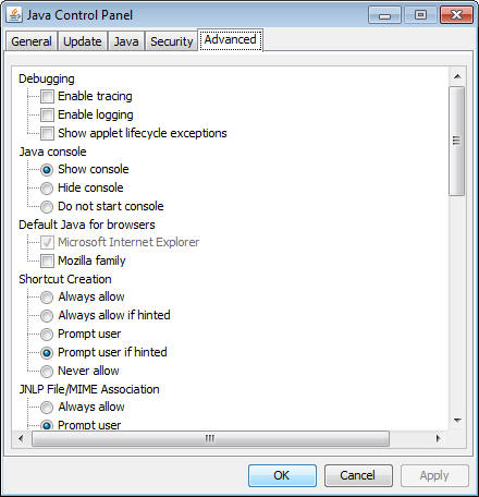 java 2 sdk standard edition v 1.4.2 support for applet
