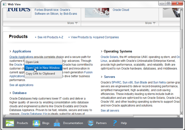 7 Managing Web Pop-Up Windows (Release 8)