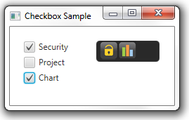 Two checkboxes are selected