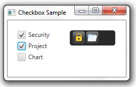 Checkbox sample