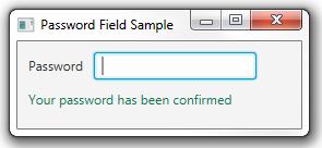 The password is correct