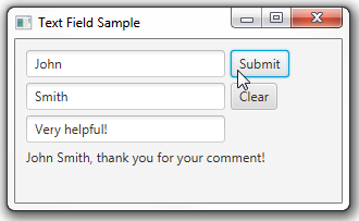 the TextBoxSample application
