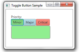 Toggle buttons styles with CSS