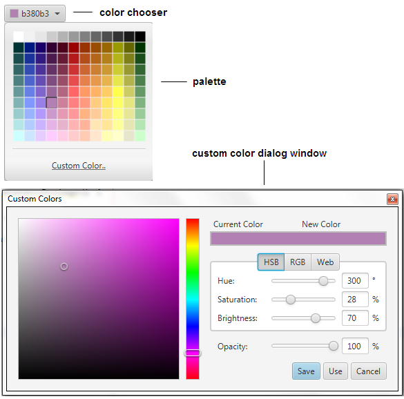 how to change indesign interface color