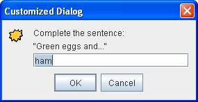 How To Make Dialogs The Java Tutorials Creating A Gui
