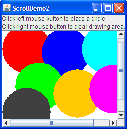 How to Use Scroll Panes (The Java™ Tutorials > Creating a GUI With