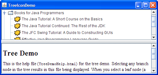 javase tutorial uiswing components index.