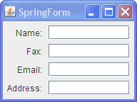 swing - How to make an input form in java code (NOT Netbeans using ...