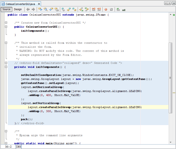 NetBeans IDE Basics (The Java™ Tutorials > Creating a GUI