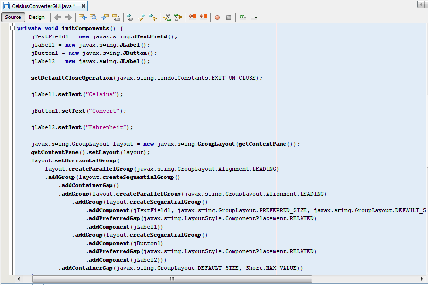 Creating First Java Swing GUI Application with NetBeans ...