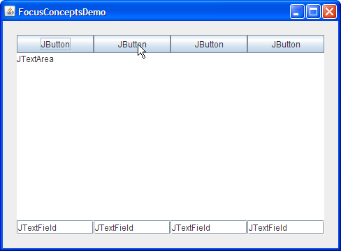 How to Use the Focus Subsystem (The Java™ Tutorials > Creating a GUI