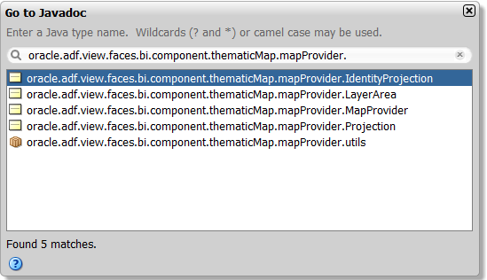 Using Map Components