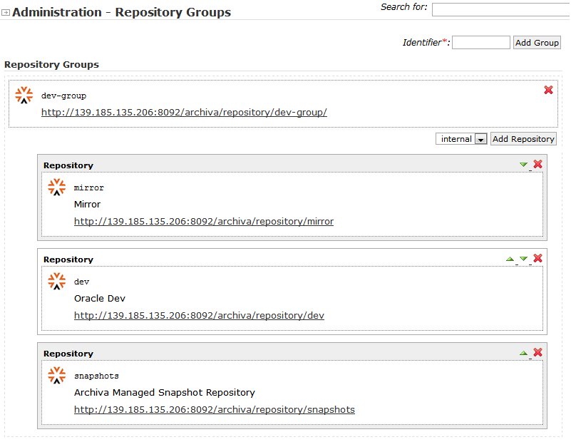 4 Installing and Configuring the Archiva Maven Repository