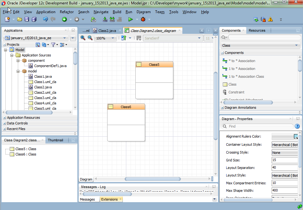 5 developing applications using modeling class diagram example ccuart Choice Image