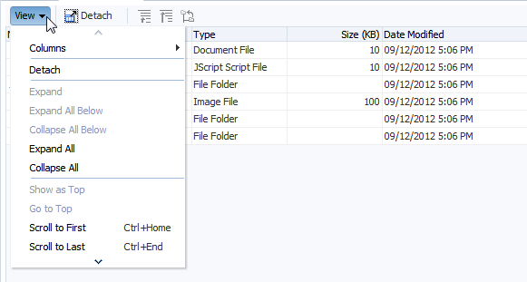 Using Tables, Trees, and Other Collection-Based Components