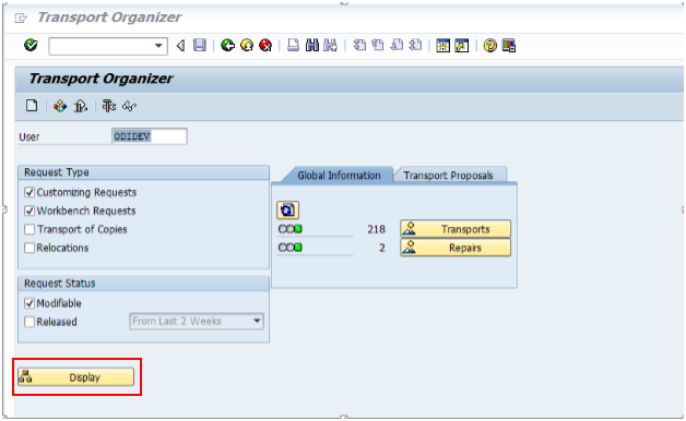 Moving ODI and SAP Components from Development to Production