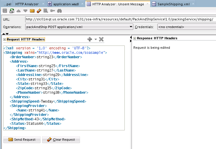 Integrating REST Operations in SOA Composite Applications