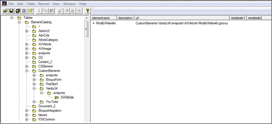 Configuring Vanity URLs