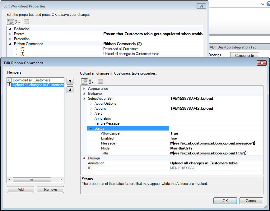 Working With Adf Desktop Integration Table Type Components