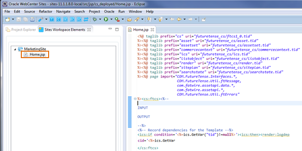 Creating Templates for Mobile Websites Using Developer Tools