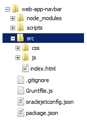 Getting Started with Oracle JET Web Application Development