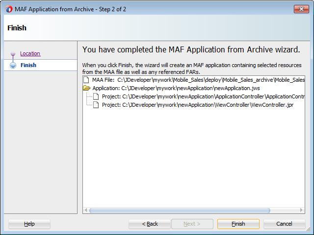 27 Deploying MAF Applications