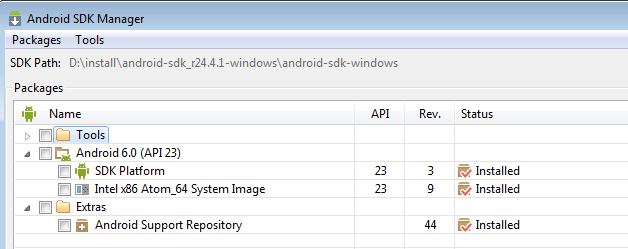 Pjsip android support repository
